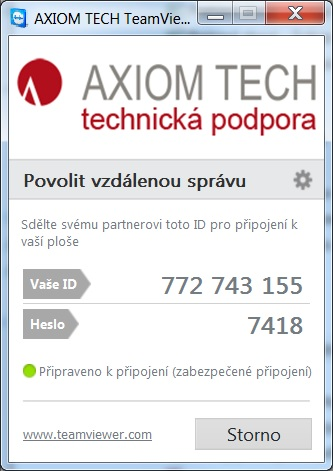 AXIOM TECH TeamViewer